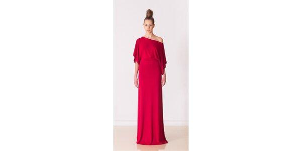Dámské ohnivě červené večerní šaty Yuliya Babich