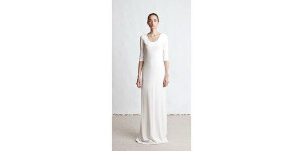 Dámské dlouhé krémové šaty Yuliya Babich