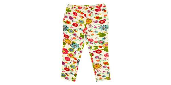 Dětské pestré květované kalhoty Peace&Love