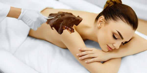 Masáže s vůní čokolády pro dokonalý relax