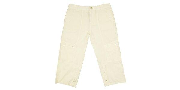 Dětské krémové kalhoty Peace&Love