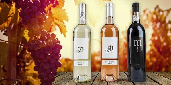 Luxusní provensálská vína z Francouzské vinotéky