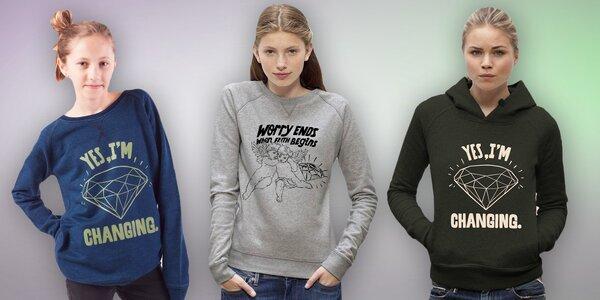 Dámské mikiny a trička s motivem od Pasty Onera