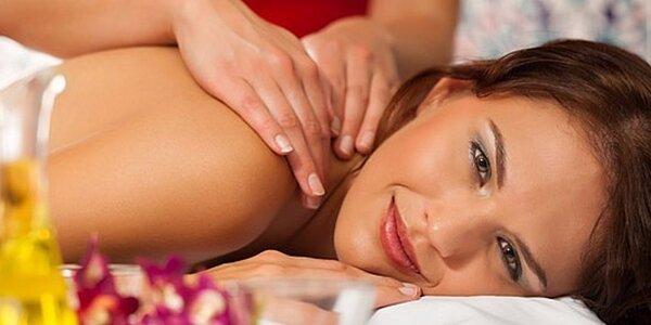 90minutová jemná pocitová masáž celého těla