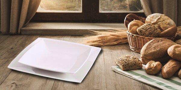 2ks hranatých talířů od návrhářky Nicky Vankets