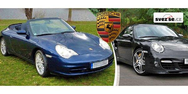 Zážitek ve vozech Porsche 911 Turbo či Carrera 4 Cabrio