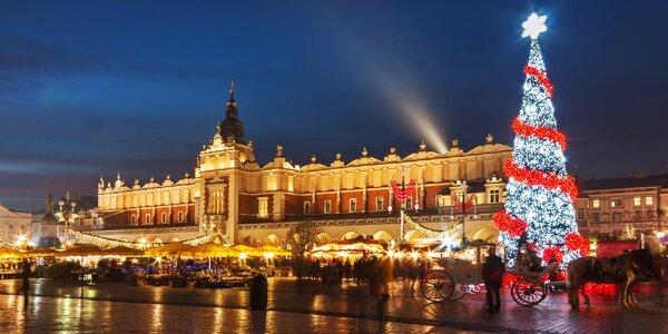 Adventní zájezd do Krakowa s průvodcem