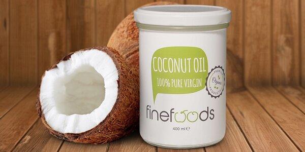 400 ml panenského kokosového oleje pro chuť i krásu