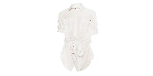 Dámská bílá transparentní košile Miss Sixty