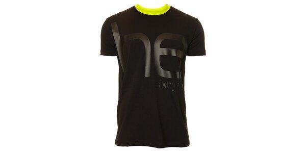 Pánské černé triko s krátkým rukávem Head