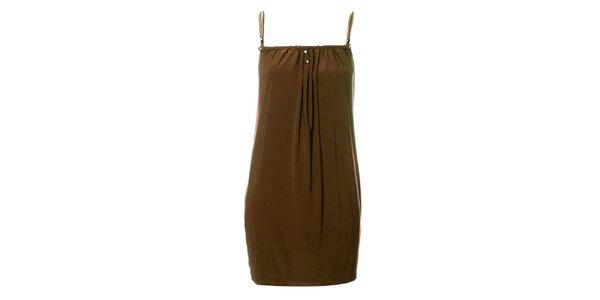 Dámské béžové šaty Via Bellucci