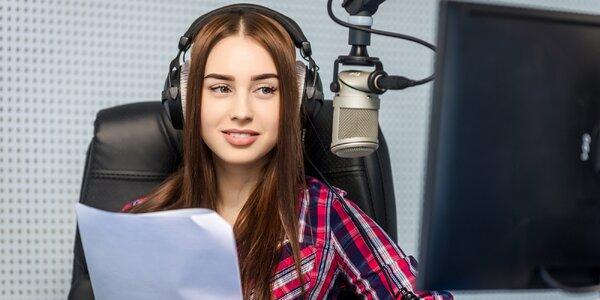 Moderátorem v rádiu za tři dny