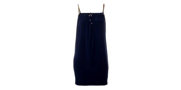 Dámské tmavě modré šaty Via Bellucci