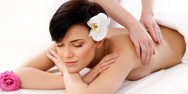 60minutová thajská masáž zad a šíje v centru Prahy