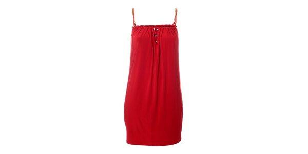 Dámské červené šaty Via Bellucci