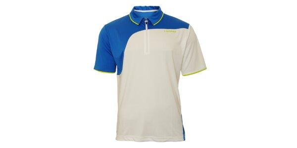 Pánské modro-bílé tenisové triko Head