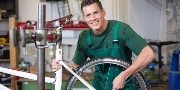 Profesionální posezonní servis jízdního kola