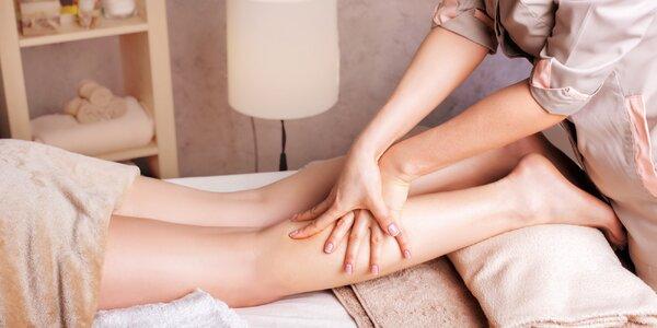 60minutová manuální lymfatická masáž dolních končetin