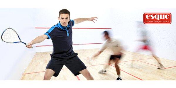 Letní permanentka na squash, badminton nebo stolní tenis