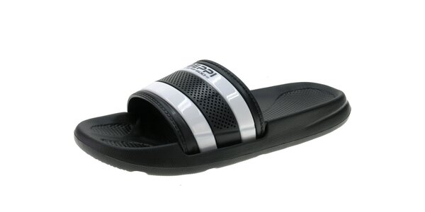 Pánské šedo-černé pantofle Beppi