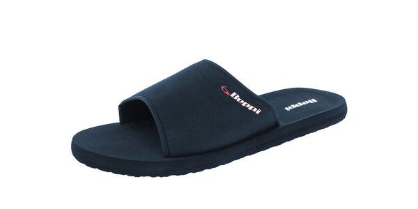 Pánské modré pantofle s logem Beppi