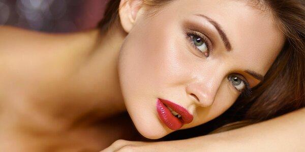 Permanentní make-up obočí s přirozeným vzhledem