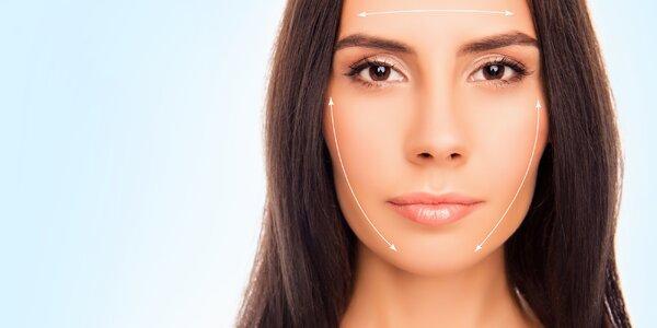 Lifting obličeje - speciální manuální masáž
