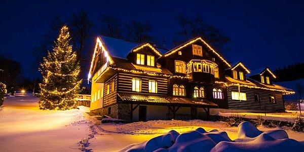 Vánoce v kouzelném penzionu v Krkonoších