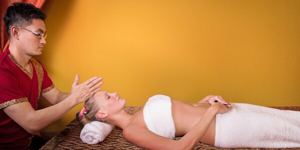 Thajská masáž v salonu Ban Thai od maséra