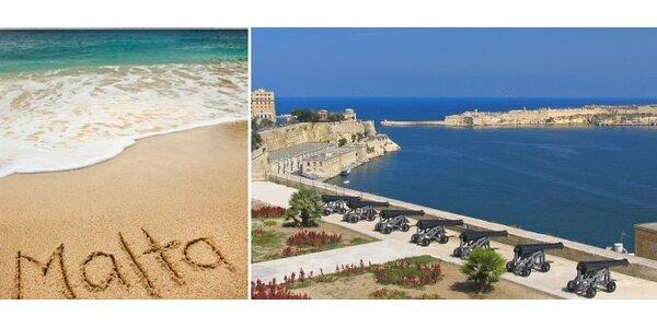 4490 Kč za zpáteční letenku na ostrov Malta!