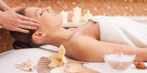 60minutová relax aroma masáž v ateliéru Kotlár