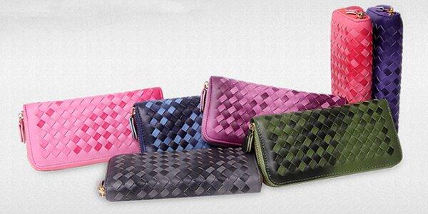 Elegantní peněženky v prošívaném designu