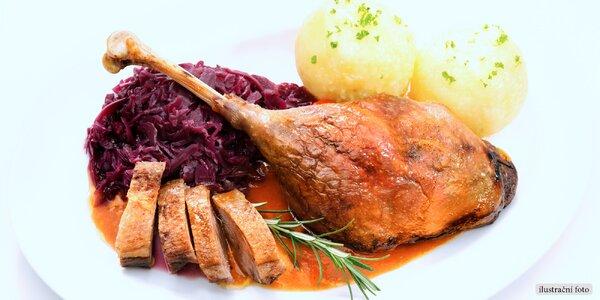 Svatomartinské menu včetně vína