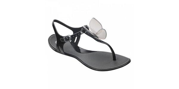 Černé sandály Mel