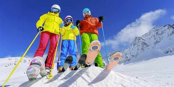 Servis lyží nebo snowboardu