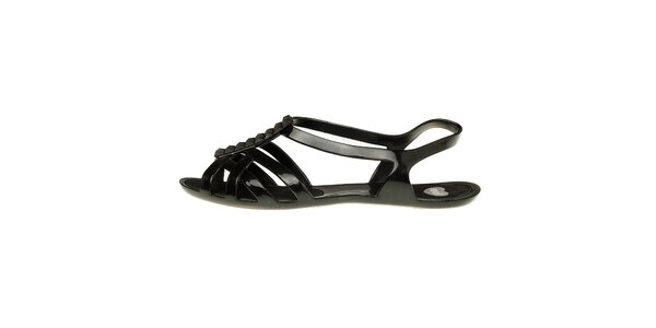 Dámské černé sandály Mel s pyramidkami