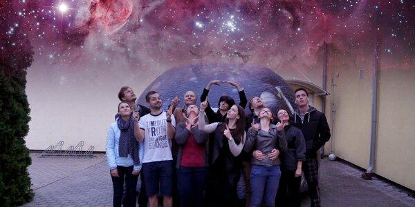 Hvězdy na návštěvě u vás doma: Planetárium Morava