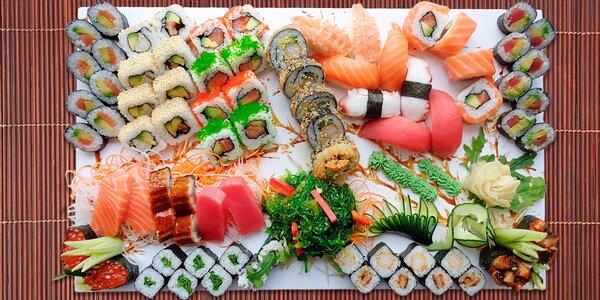 Podlehněte Asii: Exkluzivní sushi menu