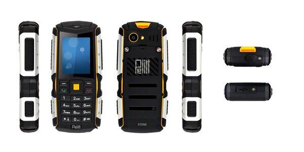 Outdoorový mobilní telefon Pelitt Stone