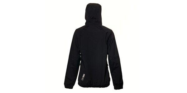Dámská nepromokavá černá bunda Rejoice