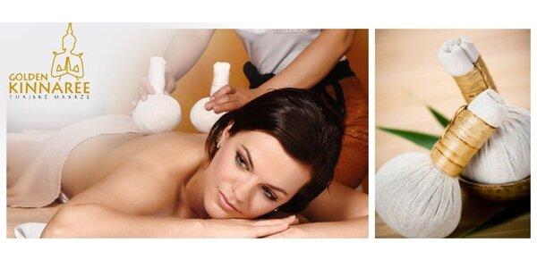 60 minut thajské masáže v exotických salonech Golden Kinnaree jen za 499 Kč