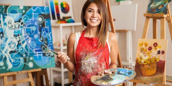 6hodinový kurz kresby a malby aktu s modelkou