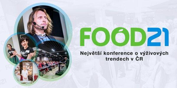 Konference o výživě Food21 a celodenní catering