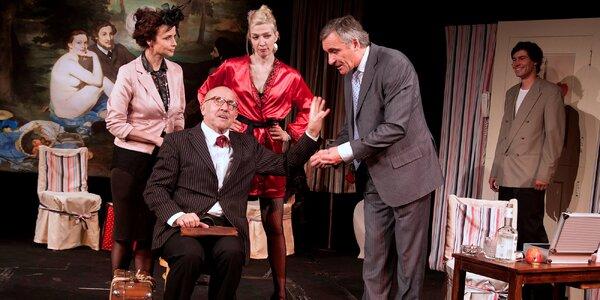 Vstupenka na divadelní komedii s Petrem Nárožným