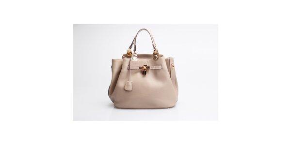 Kožená kabelka Belle&Bloom vrežné barvě