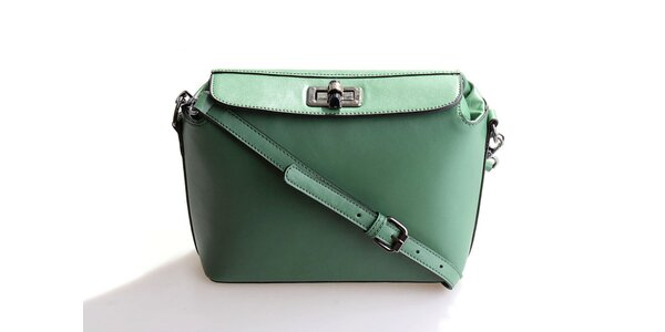 Dámská zelená kabelka Belle&Bloom