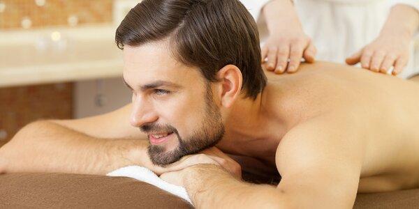 60minutová anti blok masáž proti bolestem zad