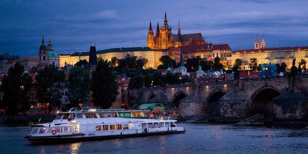 Adventní plavba centrem Prahy
