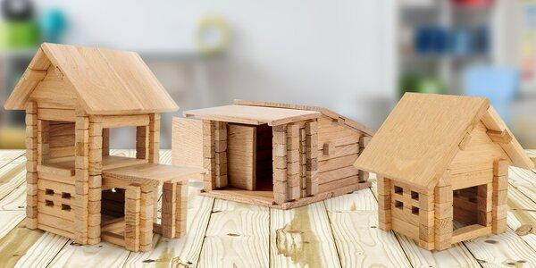 Dřevěná ekologická stavebnice Igroteco