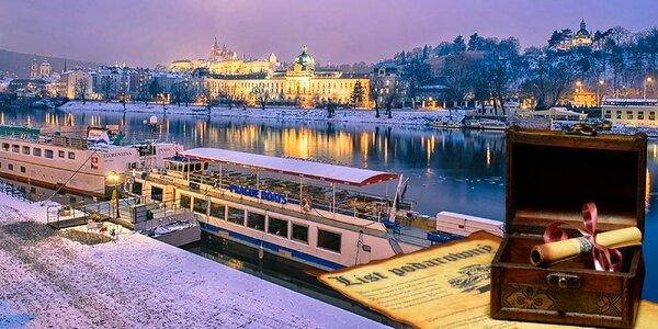 Nápaditý dárkový poukaz na plavbu po Vltavě